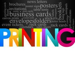 Printing Background
