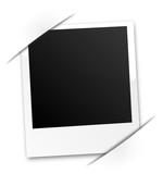 Polaroid eingeklebt