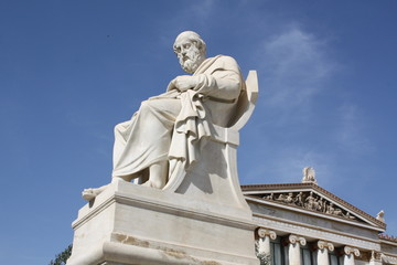 Philosopher Plato in Athens