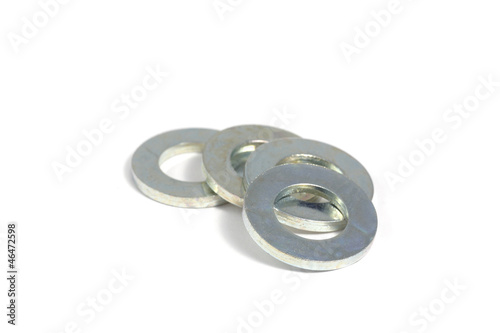 Galvanized steel washers