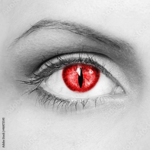 Vampire eyes