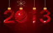 elegant New Year 2013  background, vector