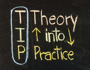 TIP acronym for theory into practice