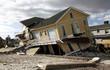 Leinwanddruck Bild - Hurricane Sandy destruction