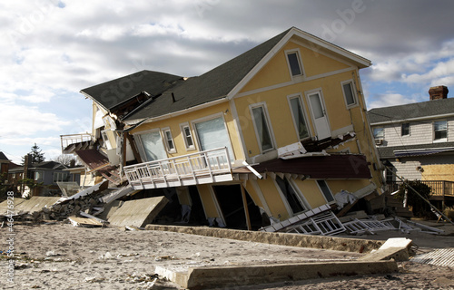 Hurricane Sandy destruction - 46476928