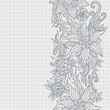Floral design. Design template. Abstract background.