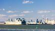 port in Upper New York Bay, USA