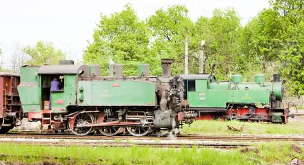 steam locomotives, Kolubara, Serbia