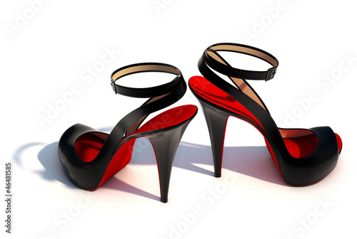 canvas print picture High Heels