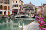 Fototapety Annecy in september