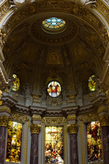 Berlin Cathedral (Berliner Dom). Interior.