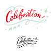 Celebration holiday event party birthday banner stars