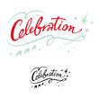 Celebration holiday event party birthday banner stars