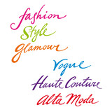 Fashion Style Glamour vogue haute couture alta
