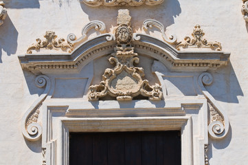 Church of St. Francesco da Paola. Nardò. Puglia. Italy.