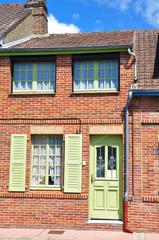 Fassade eines Einfamilienhauses