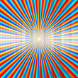 colorful rays pattern