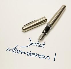 Stift - jetzt informieren