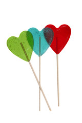 valentine lollypop