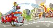 The fire truck - 46492985