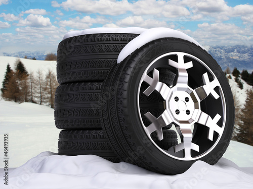 Winter wheels set