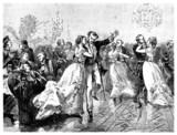 High Society 19th century : Ball