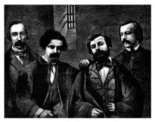 4 Prisoners - 19th century