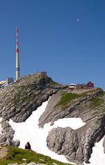 Säntisgipfel - Alpstein - Alpen - Schweiz