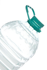 plastic water bottle isolated....