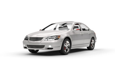 Silver Business Car