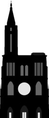 Cathédrale de Strasbourg - gray-black