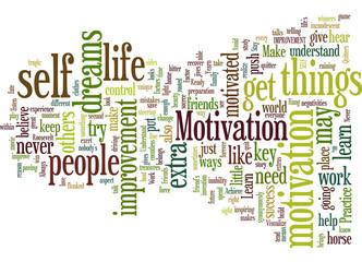motivation-the-heart-of-self-improvement concept