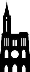 Cathédrale de Strasbourg - Black