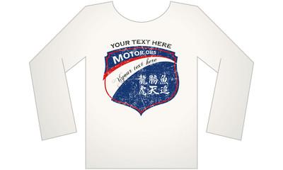t-shirt Motor oil
