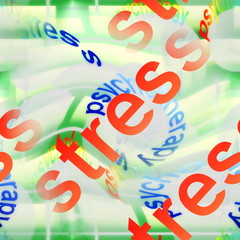 stress abstract background