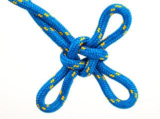 marine  knot isolated on white