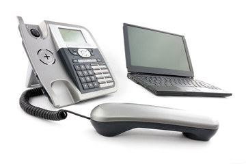 IP Phone and computer