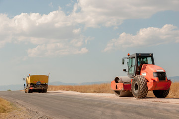 Support activities for the construction of roads and highways