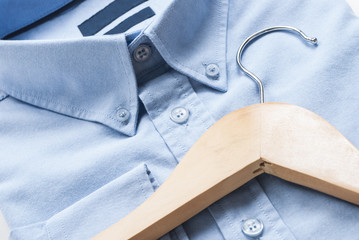 Shirt and cloth hanger