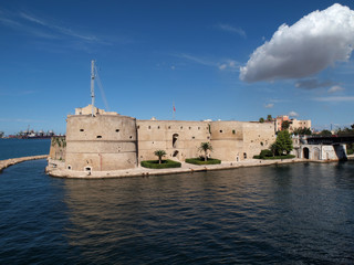 Castello Aragonese, Taranto, Italy.