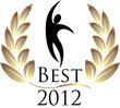 Best 2012 isolated logo