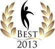 Best 2013 isolated logo
