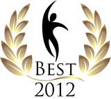 Best 2012 isolated logo