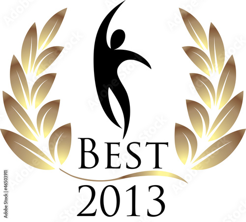 Best 2013 isolated logo