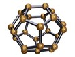 3d render of Isolated C24 Carbon Fullerene