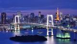 Fototapeta gród - japoński - Widok Miejski