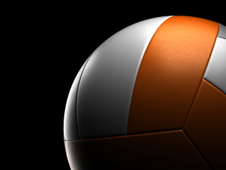 Volleyball Close-up