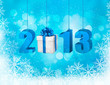 Happy new year 2013  New year design template