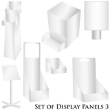 White Display annel set 3