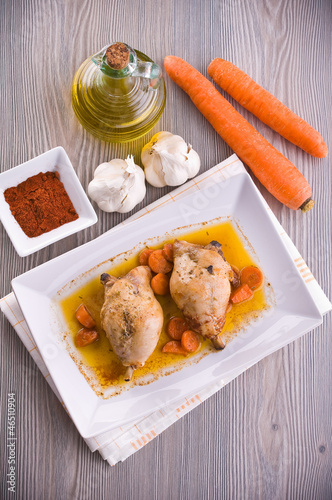Paprika Chicken Drumsticks.
